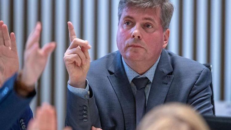 Torsten Koplin, Abgeordnete der Linken im Landtag von Mecklenburg-Vorpommern. Foto: Jens Büttner/dpa-Zentralbild/ZB/Archivbild