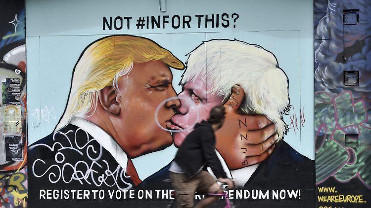 Donald Trump und Boris Johnson sind politische Doppelgänger. Aber in Handelsfragen könnte es zwischen beiden krachen.