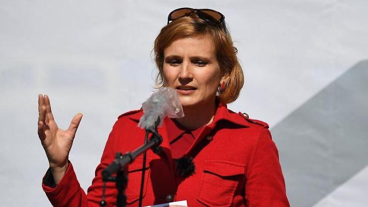 Katja Kipping (Die Linke). Foto: Britta Pedersen/dpa-Zentralbild/dpa/Archivbild