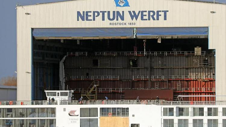 Neptun Werft Rostock Geschichte