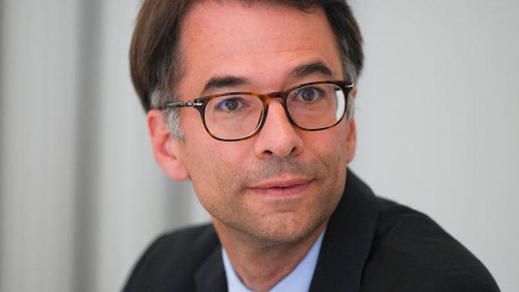 Christian Heinz, der neue Vorsitzende des Untersuchungsausschusses zum Mordfall Lübcke. Foto: Arne Dedert/dpa