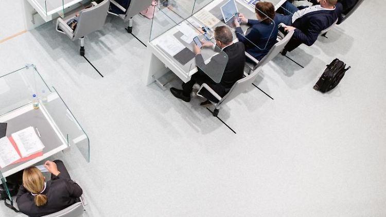 Im Landtag in Niedersachsen findet eine Sitzung statt. Foto: Hauke-Christian Dittrich/dpa/Symbolbild