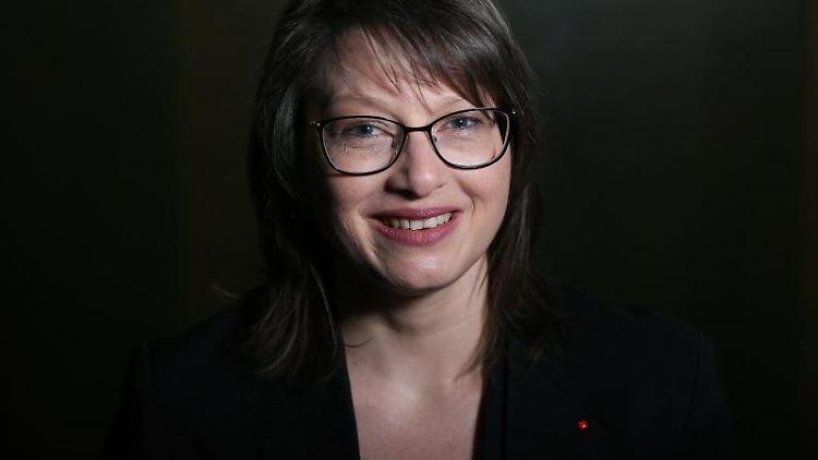 Katja Pähle, Chefin der SPD im Landtag von Sachsen-Anhalt. Foto: Ronny Hartmann/dpa/Archivbild