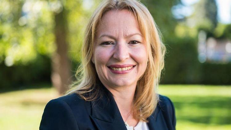Christine Streichert-Clivot (SPD), saarländische Bildungsministerin. Foto: Oliver Dietze/dpa/Archivbild