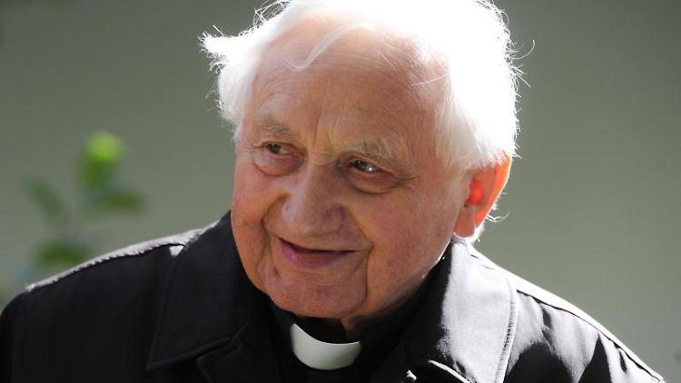 Der verstorbene frühere Regensburger Domkapellmeister und Leiter der Domspatzen, Georg Ratzinger. Foto: picture alliance / dpa