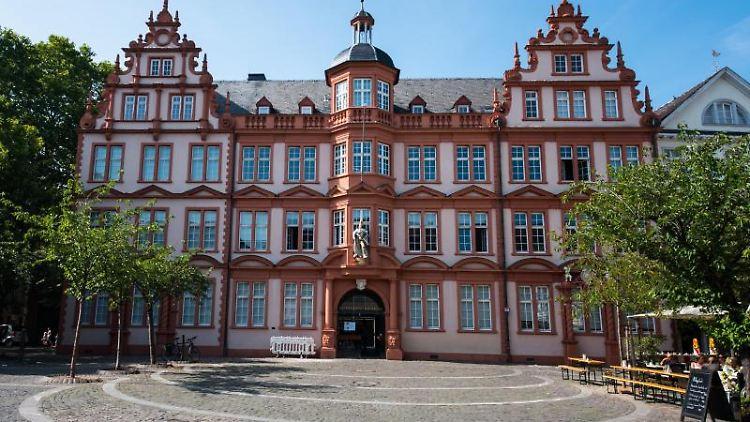 Blick auf das historische Gebäude
