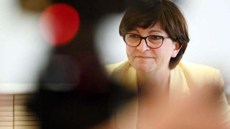 Saskia Esken, SPD Parteivorsitzende. Foto: Uli Deck/dpa