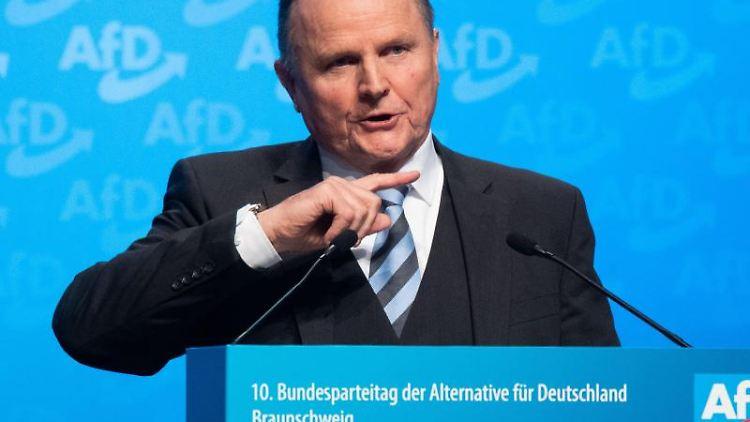 Georg Pazderski, Berlins AfD-Fraktionschef. Foto: Julian Stratenschulte/dpa