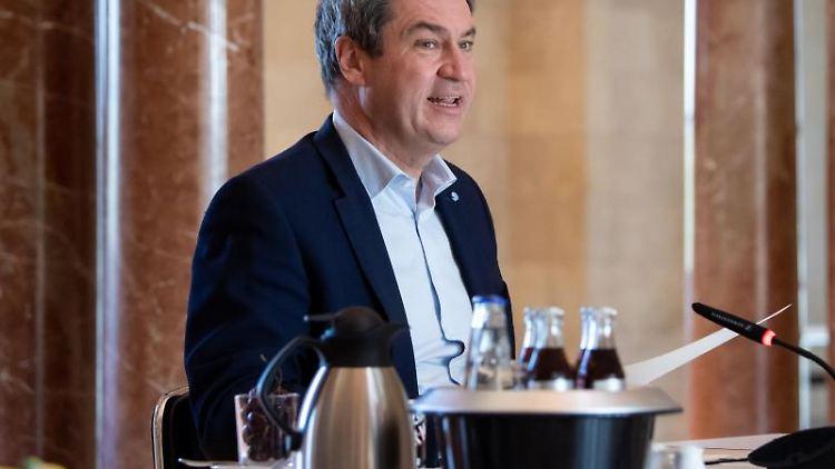 Markus Söder (CSU), Ministerpräsident von Bayern. Foto: Sven Hoppe/dpa Pool/dpa