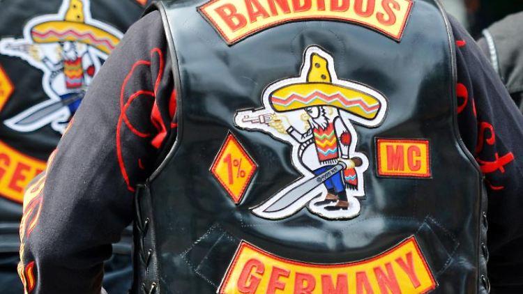 Mitglieder des Motorradclubs