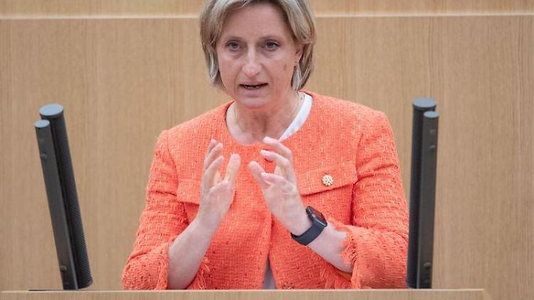 Nicole Hoffmeister-Kraut (CDU), Wirtschaftsministerin von Baden-Württemberg. Foto: Marijan Murat/dpa/Archivbild