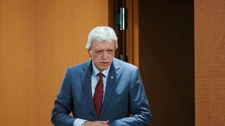Volker Bouffier, Ministerpräsident von Hessen. Foto: Markus Schreiber/AP-Pool/dpa/Archivbild