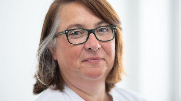 Sybille Banaschak, Leiterin des Kompetenzzentrums Kinderschutz im Gesundheitswesen NRW. Foto: Marius Becker/dpa/Archivbild