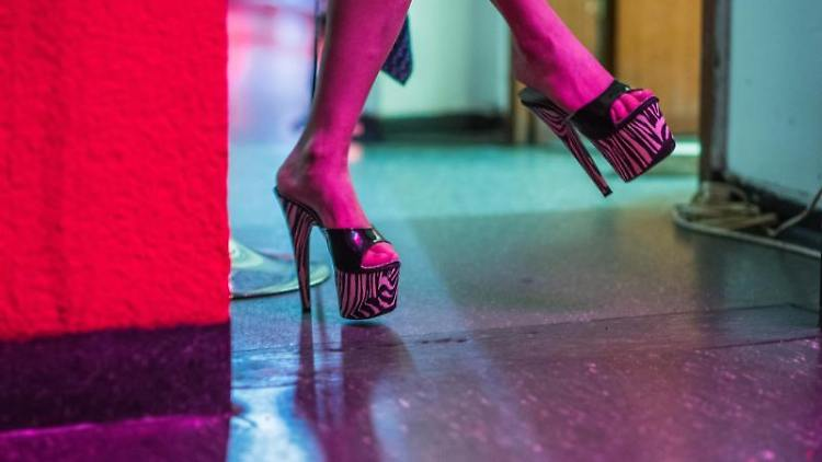 Eine Prostituierte wartet auf ihrem Zimmer in einem Bordell auf Kundschaft. Foto: Andreas Arnold/dpa/Illustration
