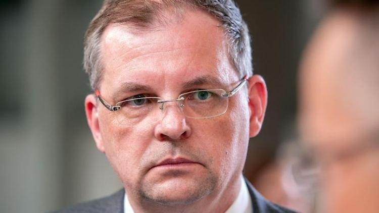 Matthias Belke, Präsident der Industrie- und Handelskammer (IHK) zu Schwerin. Foto: Jens Büttner/dpa-Zentralbild/ZB/Archiv