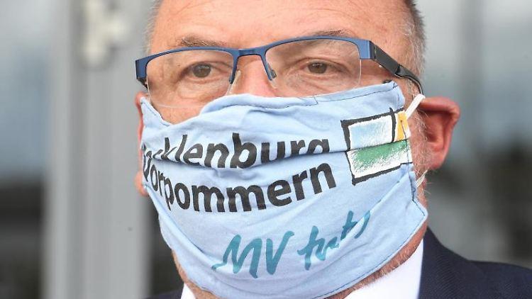 Harry Glawe (CDU), Gesundheitsminister von Mecklenburg-Vorpommern. Foto: Stefan Sauer/dpa-Zentralbild/dpa/Archivbild