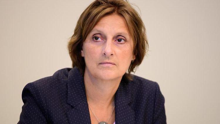 Britta Ernst (SPD), Brandenburgs Bildungsministerin. Foto: Soeren Stache/dpa-Zentralbild/ZB