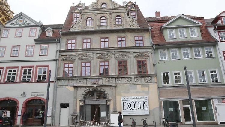 Das Gebäude der Kunsthalle Erfurt. Foto: Bodo Schackow/dpa-Zentralbild/dpa/Archivbild