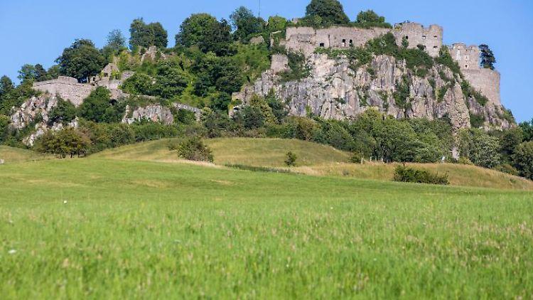 Die ehemalige Festung Hohentwiel. Foto: Philipp von Ditfurth/dpa/Archivbild