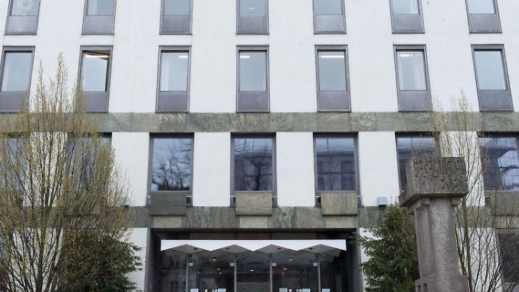 Das Landgericht in Weiden (Oberpfalz). Foto: Armin Weigel/dpa/Archivbild