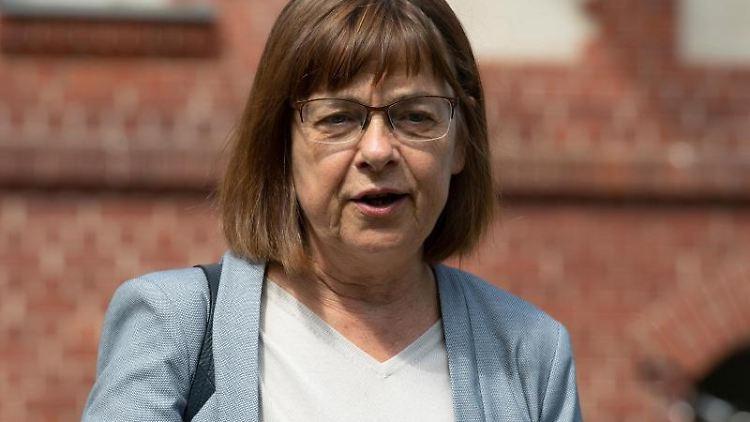 Ursula Nonnemacher (Bündnis 90/Die Grünen) bei einem Termin. Foto: Paul Zinken/dpa-zb-Zentralbild/ZB/Archivbild