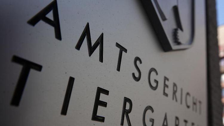 Der Eingang vom Amtsgericht Tiergarten. Foto: Taylan Gökalp/dpa/Archivbild