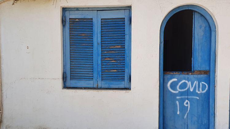 Griechenland Corona Covid-19 Kreta
