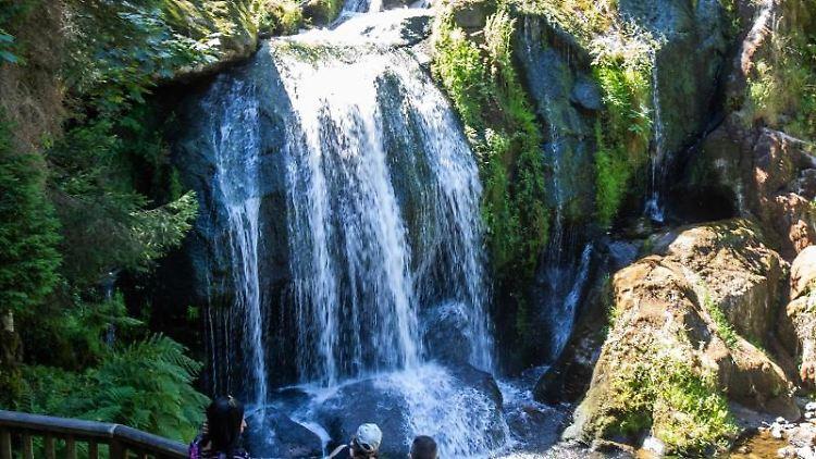 Höchste Wasserfälle In Baden-Württemberg