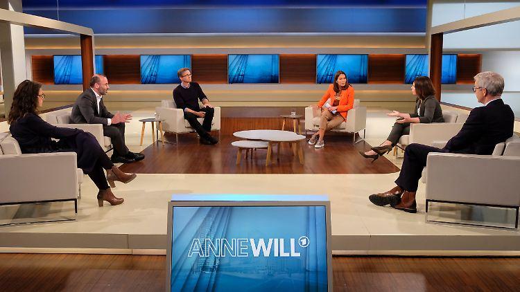 Anne Will diskutierte mit ihren Gästen über die Lage in Lesbos und die Aufnahme von Geflüchteten.