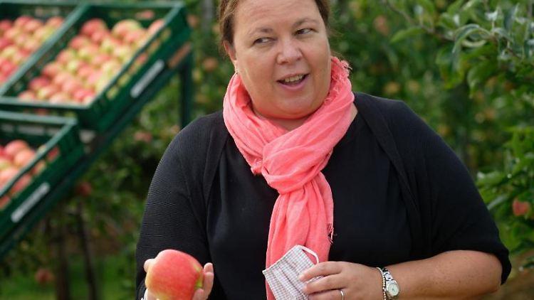 Ursula Heinen-Esser (CDU), Ministerin für Umwelt, Landwirtschaft, Natur- und Verbraucherschutz des Landes Nordrhein-Westfalen. Foto: Henning Kaiser/dpa/Archivbild