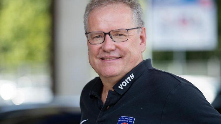 Holger Sanwald, Vorstandsvorsitzender des Fußball-Zweitligisten 1. FC Heidenheim. Foto: Daniel Karmann/dpa/Archivbild