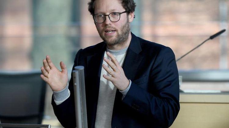 Jan Philipp Albrecht (Bündnis90/Die Grünen), schleswig-holsteinischer Umweltminister. Foto: Carsten Rehder/dpa/Archivbild