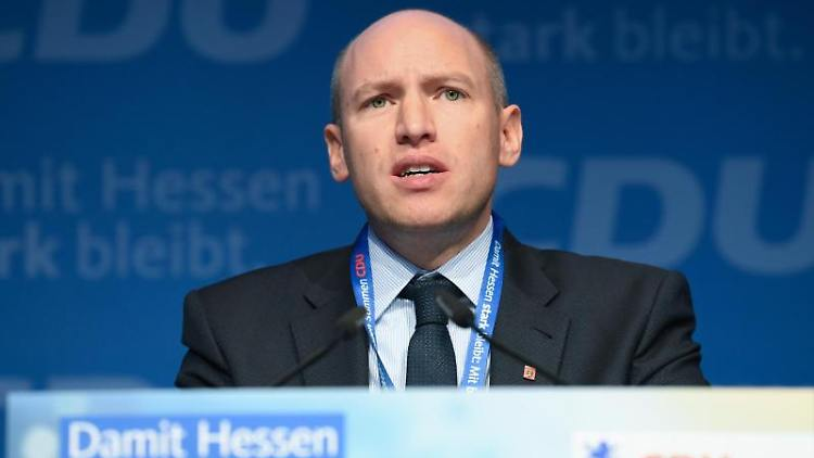 Manfred Pentz (CDU), Generalsekretär der CDU Hessen. Foto: Arne Dedert/dpa/Archivbild