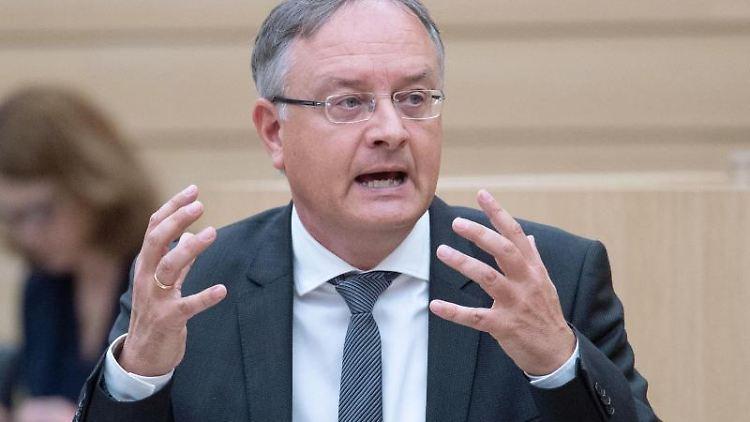 Andreas Stoch, SPD-Landtagsfraktionsvorsitzender in Baden-Württemberg. Foto: Marijan Murat/dpa/Archivbild