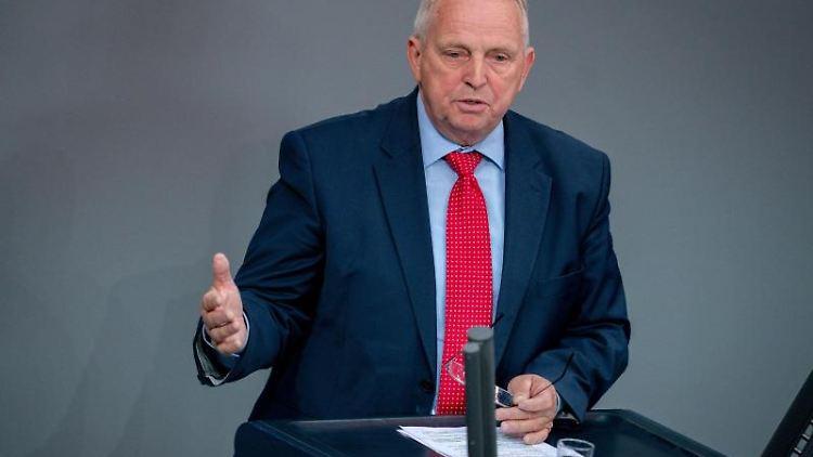 Till Backhaus (SPD), Landwirtschaftsminister des Landes Mecklenburg-Vorpommern. Foto: Kay Nietfeld/dpa/Archivbild