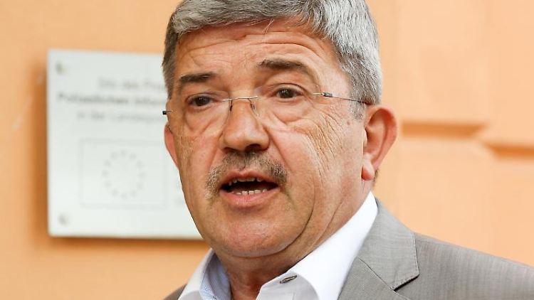 Lorenz Caffier (CDU). Foto: Bodo Marks/dpa/Archivbild