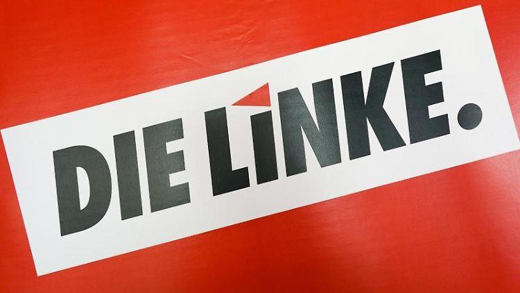 Das Logo der Partei Die Linke. Foto: Peter Endig/zb/dpa/Archivbild