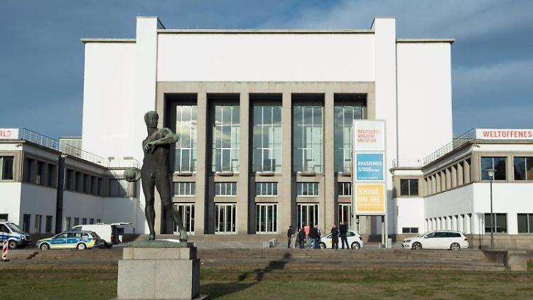 Das Deutsche Hygiene-Museum (DHMD). Foto: Sebastian Kahnert/dpa-Zentralbild/ZB/Archivbild