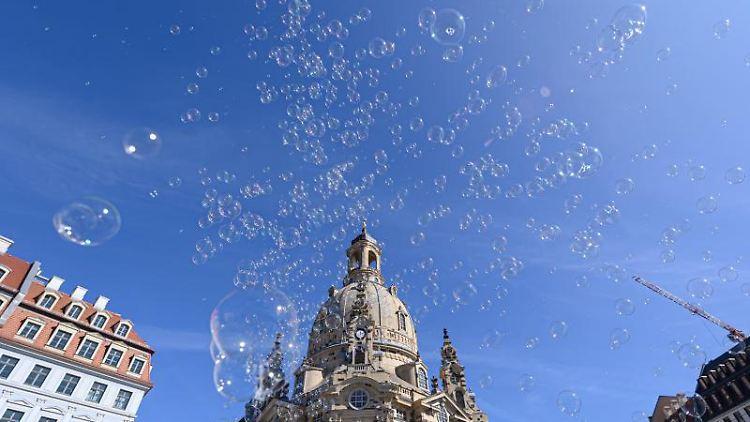 Die Dresdner Frauenkirche ist zu sehen. Foto: Robert Michael/dpa-Zentralbild/dpa/Archivbild