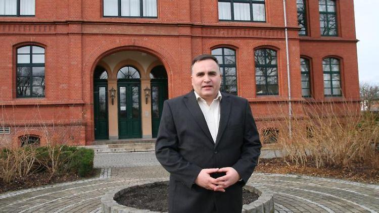 Kommunalpolitiker Ingo Paeschke (Die Linke) aus Forst (Spree-Neiße). Foto: K. Kunipatz/Lausitzer Rundschau/dpa-Zentralbild/dpa