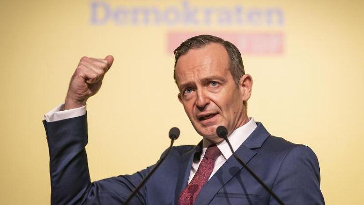Volker Wissing, FDP-Landesvorsitzender und Wirtschaftsminister in Rheinland-Pfalz. Foto: Frank Rumpenhorst/dpa