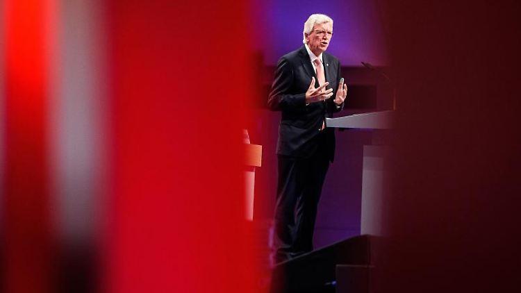 Volker Bouffier, der Ministerpräsident und CDU-Landesvorsitzende in Hessen. Foto: Swen Pförtner/dpa