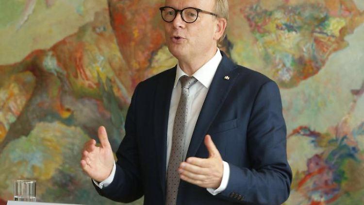 André Kuper, der Landtagspräsident von Nordrhein-Westfalen. Foto: David Young/dpa/Archivbild