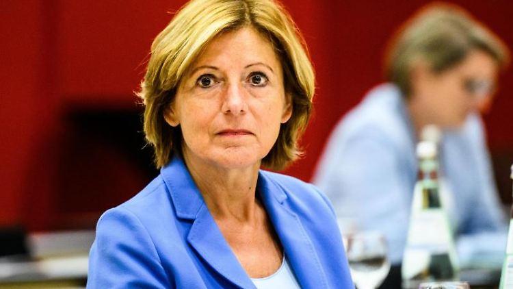 Ministerpräsidentin Malu Dreyer (SPD) im Landtag. Foto: Andreas Arnold/dpa/Archivbild