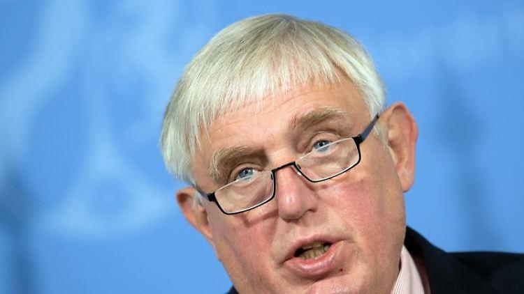 Karl-Josef Laumann (CDU), Minister für Arbeit, Gesundheit und Soziales des Landes Nordrhein-Westfalen. Foto: Federico Gambarini/dpa/Archivbild