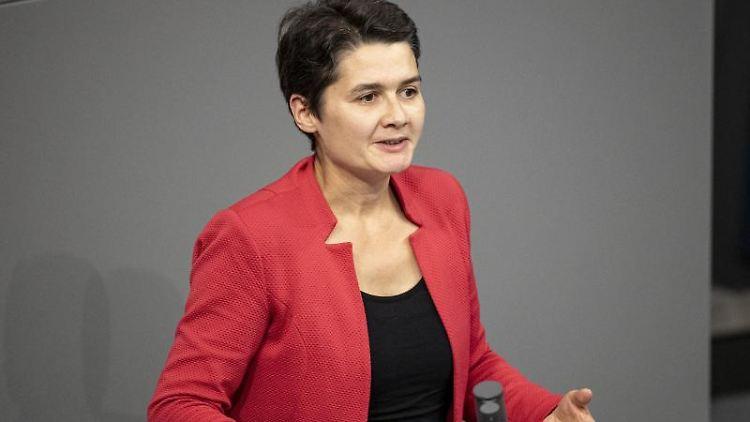 Daniela Kolbe (SPD), Mitglied des Deutschen Bundestages. Foto: Fabian Sommer/dpa/Archivbild