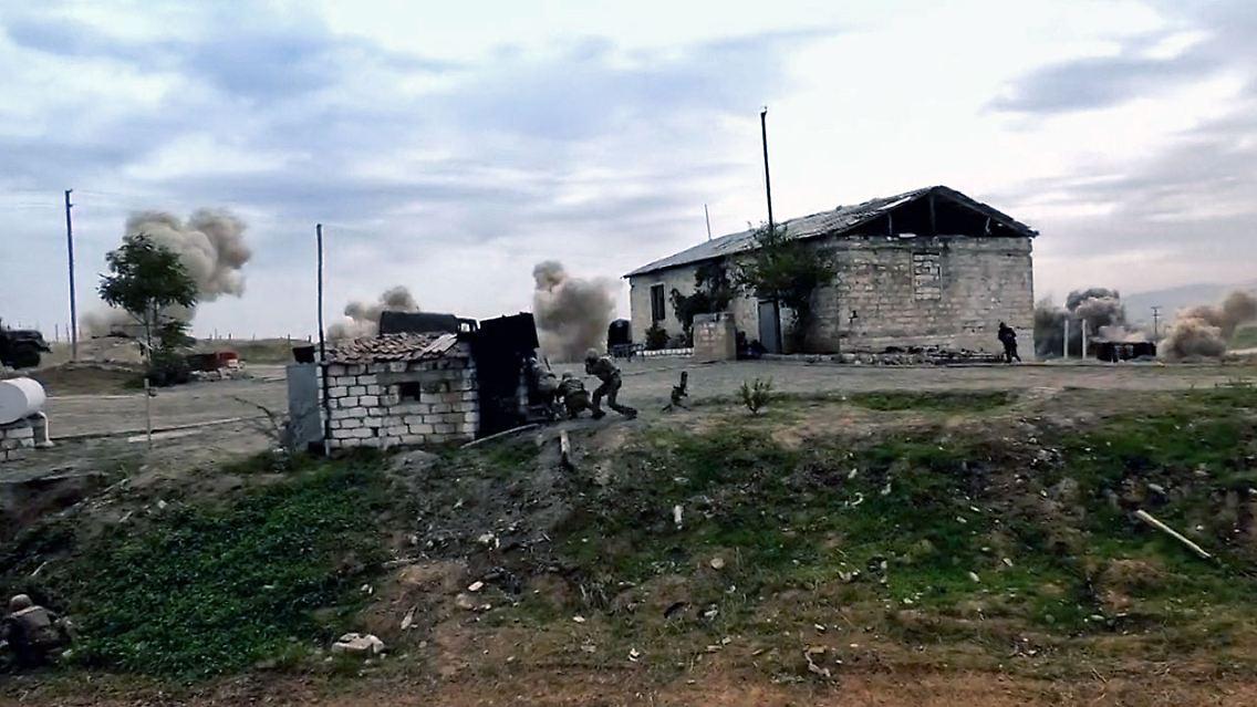 Islamisten In Berg Karabach Aserbaidschan Soll Terrorkampfer Einsetzen N Tv De