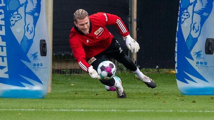 Loris Karius, neuer Torwart beim 1. FC Union Berlin. Foto: Christophe Gateau/dpa