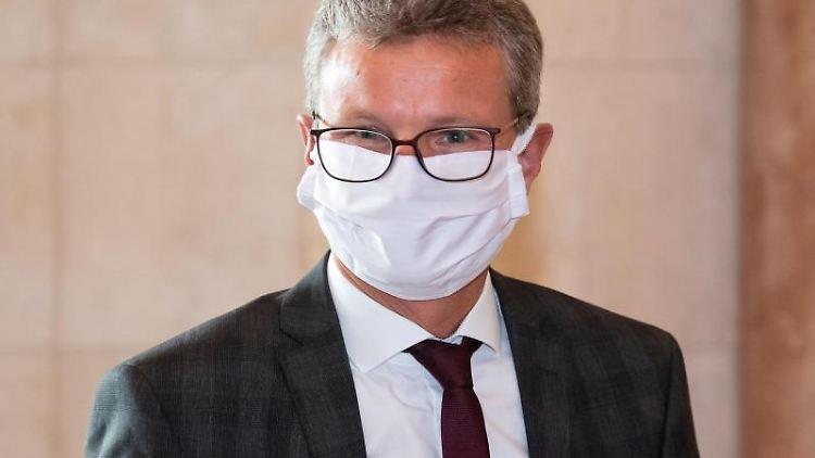 Bernd Sibler (CSU), Wissenschaftsminister von Bayern. Foto: Sven Hoppe/dpa Pool/dpa