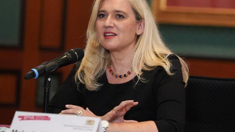 Melanie Huml (CSU), Gesundheitsministerin in Bayern. Foto: Jörg Carstensen/dpa